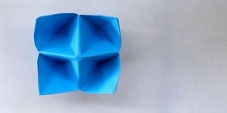 儿童手工折纸花球步骤图解 手工折纸-第9张