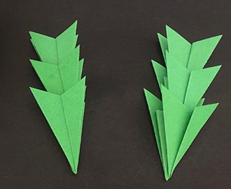 菠萝手工折纸方法图解 手工折纸-第23张