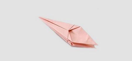 折纸百合花图解步骤 手工折纸-第5张