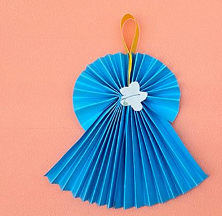 手工折纸礼服裙子步骤图解 手工折纸-第1张
