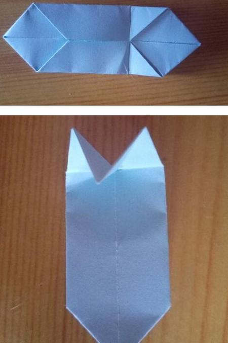 儿童手工折纸菊花步骤图解 手工折纸-第5张