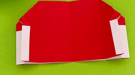 帐篷折纸方法图解 手工折纸-第12张