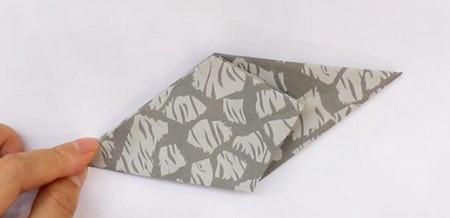 手工折纸大象的步骤图解 手工折纸-第4张