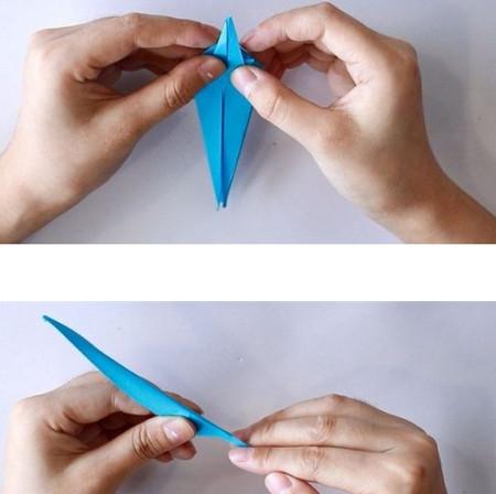 手工折纸蜘蛛图解步骤 手工折纸-第8张