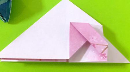冰淇淋折纸步骤图解法 手工折纸-第7张