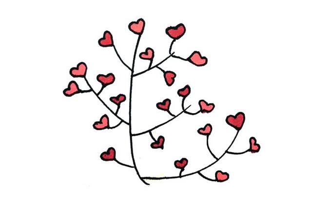 创意树木简笔画图画大全 植物-第9张