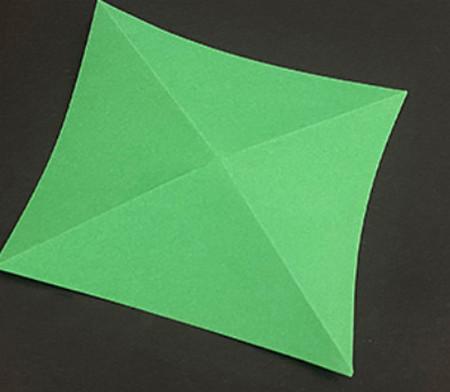 菠萝手工折纸方法图解 手工折纸-第16张