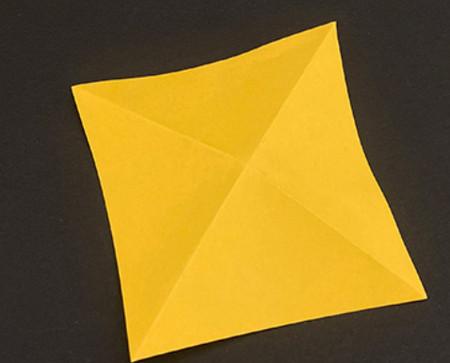 菠萝手工折纸方法图解 手工折纸-第2张
