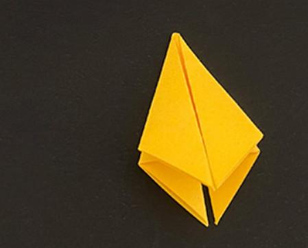 菠萝手工折纸方法图解 手工折纸-第4张