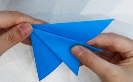 折纸热带鱼步骤图 手工折纸-第5张