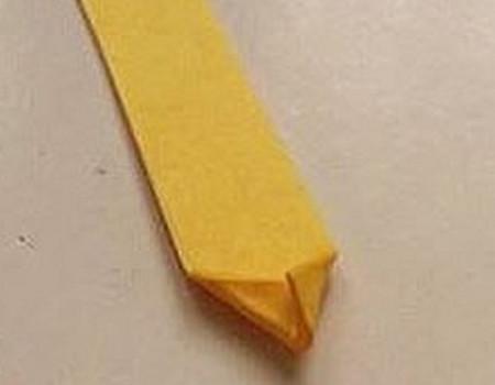马蹄莲花折纸步骤 手工折纸-第7张