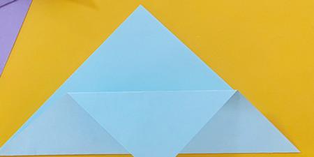 简单手工折纸小狗的步骤图解 手工折纸-第4张