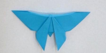 儿童手工折纸蝴蝶的步骤和图解 手工折纸-第1张