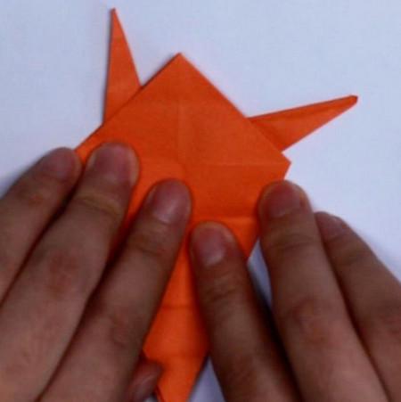 手工折纸蜗牛步骤 手工折纸-第3张