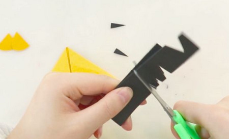 老虎书签的手工折纸图解步骤 手工折纸-第5张