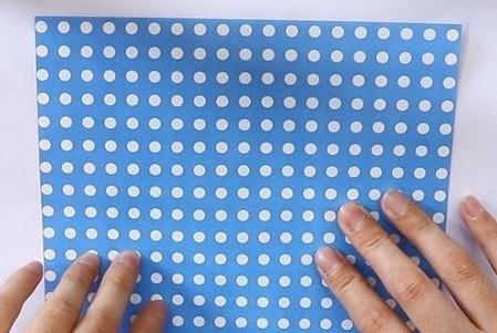 八瓣花手工折纸图解 手工折纸-第2张