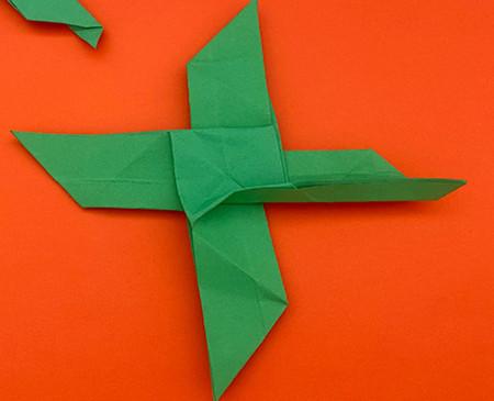 回力标折纸教程图解 手工折纸-第17张