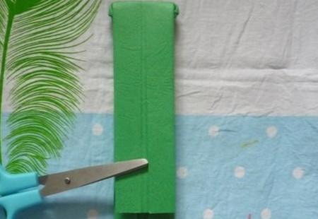 滑滑梯折纸步骤图 手工折纸-第11张