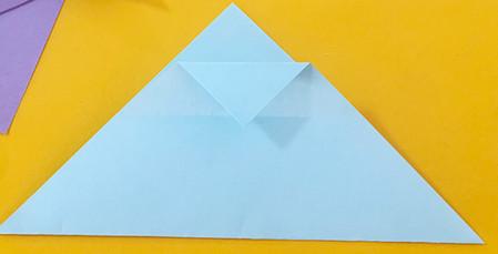 简单手工折纸小狗的步骤图解 手工折纸-第5张