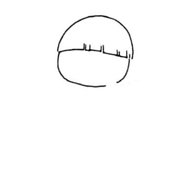 活泼可爱的小男孩简笔画画法 中级简笔画教程-第3张