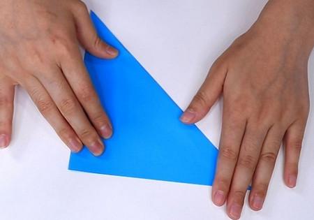 儿童手工折纸帆船折法图解 手工折纸-第3张