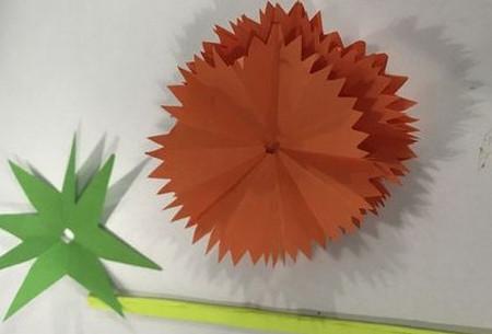 折纸康乃馨的步骤图 手工折纸-第13张