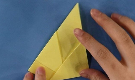 小狗儿童手工折纸步骤图解法 手工折纸-第4张