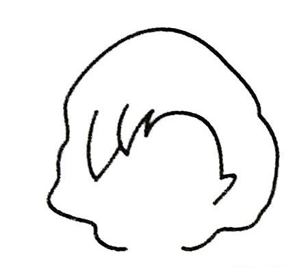 妈妈头像简笔画图片 人物-第3张