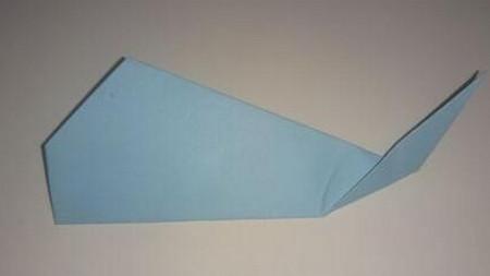 鲸鱼折纸步骤图 手工折纸-第6张