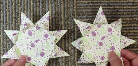 蛋糕手工折纸教程步骤图片 手工折纸-第13张