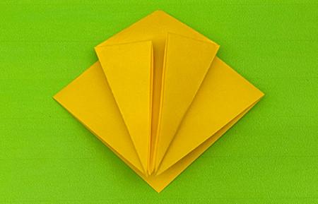乌鸦手工折纸步骤图解 手工折纸-第5张
