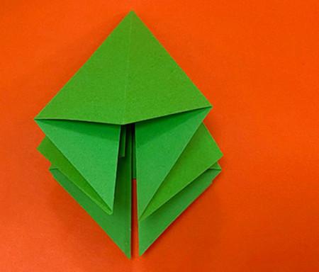 降落伞折纸方法图片大全 手工折纸-第6张