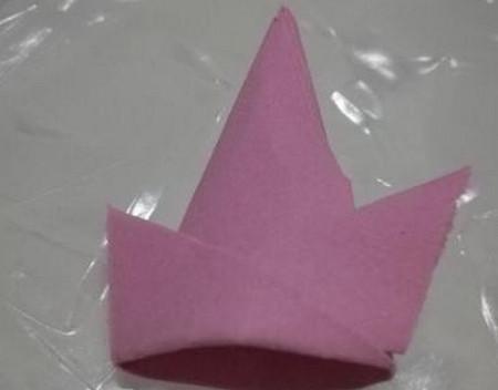 儿童折纸魔术帽的折法图解 手工折纸-第7张
