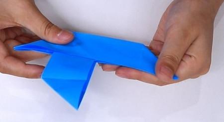 儿童手工折纸帆船折法图解 手工折纸-第12张
