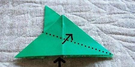 四叶草手工折纸步骤图 手工折纸-第7张