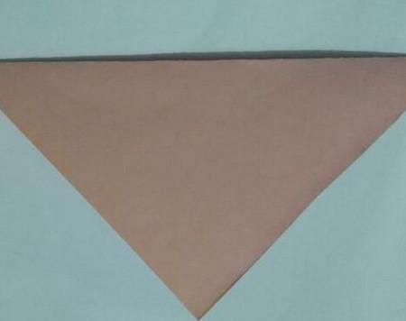小猫指套折纸步骤图 手工折纸-第3张