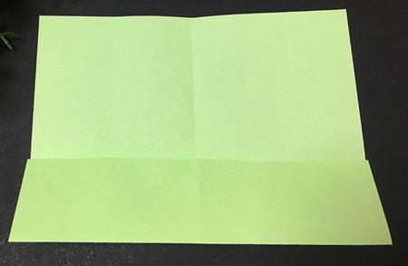 简单的折纸青蛙简单折法 手工折纸-第3张