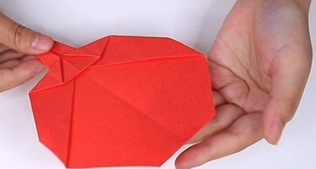 用纸折扇子的方法步骤图片 手工折纸-第11张