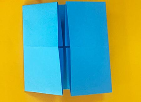 折纸小猪的步骤图解 手工折纸-第4张