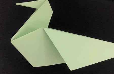 折纸鸽子的折法图解 手工折纸-第8张
