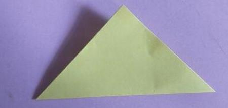 桃心折纸步骤图解 手工折纸-第2张