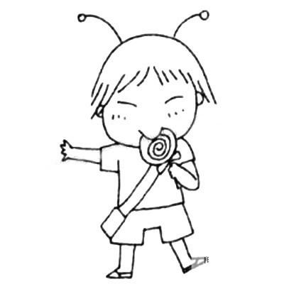小学生儿童简笔画图片 中级简笔画教程-第5张