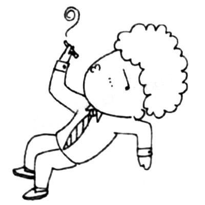 上班族简笔画画法教程 中级简笔画教程-第5张