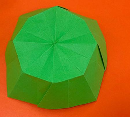 降落伞折纸方法图片大全 手工折纸-第13张