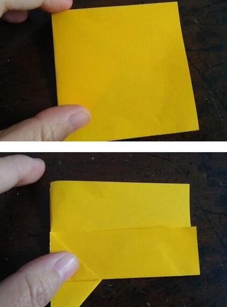 小狗指套怎么折 手工折纸-第5张