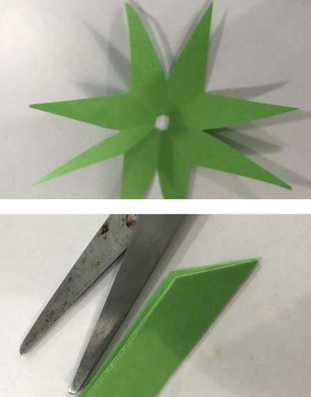 折纸康乃馨的步骤图 手工折纸-第12张