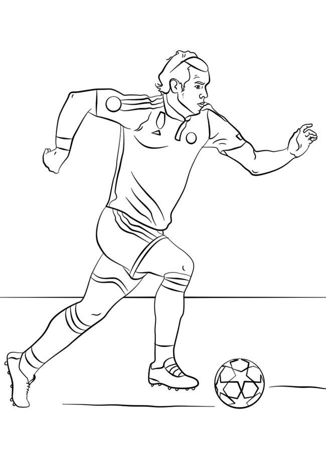 足球运动员简笔画图片 人物-第1张