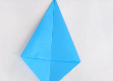 儿童手工折纸汽艇的做法图解教程 手工折纸-第2张