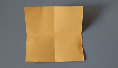 小椅子折纸步骤图解 手工折纸-第3张