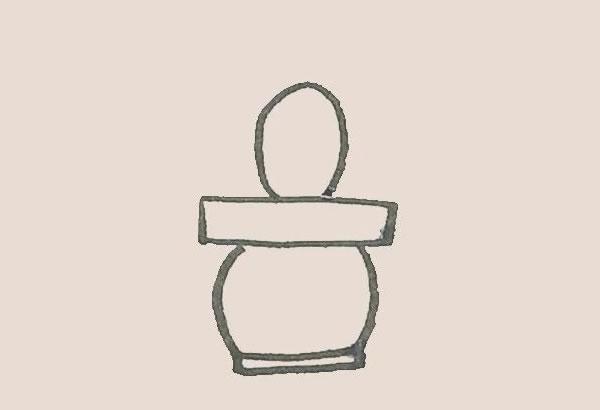 儿童简笔画仙人掌画法 初级简笔画教程-第4张